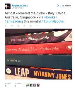 twitter winner toluna books