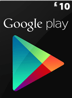 GBP10 Google Play Gift Card