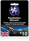 GBP10 PSN Card