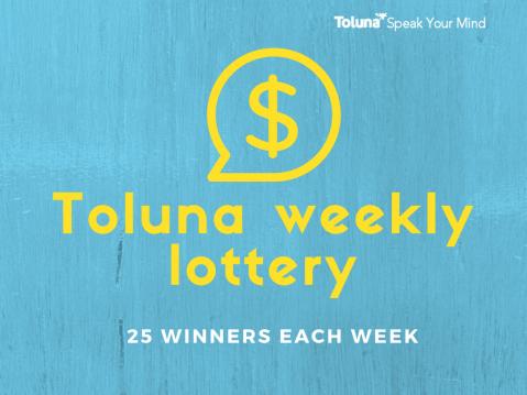 toluna-weekly-sweepstakes